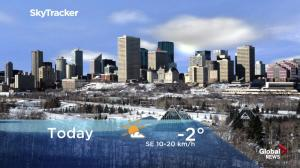 Edmonton early morning weather forecast: Friday, January 11, 2019